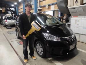 フィリード新車納車